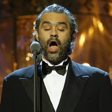 VIP Packages for Andrea Bocelli tickets | CLASSICAL