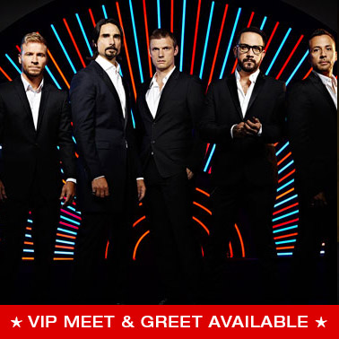VIP Packages for Backstreet Boys tickets | POP / ROCK