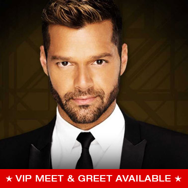 Vip packages and tickets concert premiumseatsusa ricky martin m4hsunfo Gallery
