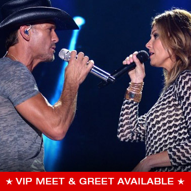 Vip packages and tickets concert premiumseatsusa faith hill m4hsunfo Gallery